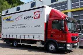 Logistik Lager Göbel Spedition und HGS Gropengiesser aus Lüdenscheid